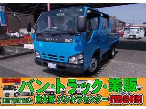 いすゞ エルフトラック ダブルキャブ パワステ/パワーウィンドウ/エアコン