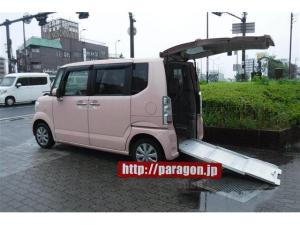 ホンダ N-BOX+ G・Lパッケージ車いす仕様車スローパー ナビTV