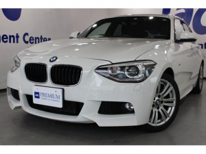 BMW 1シリーズ 116i Mスポーツ1オーナー禁煙車HDDナビフルセグTV HID 17インチAW ETC 取説 保証書 スペアスマートリモコン ディーラー記録簿有