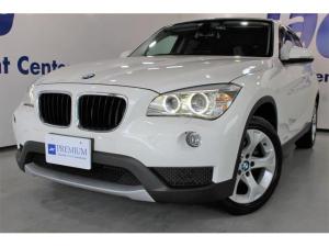 BMW X1 sDrive 18iBMW認定中古車 走行9780キロ修復無 禁煙車 HDDナビ フルセグTV バックカメラ キセノンヘッド ミラー内蔵型ETC 純正17インチAW 取説 保証書 スペアリモコン有