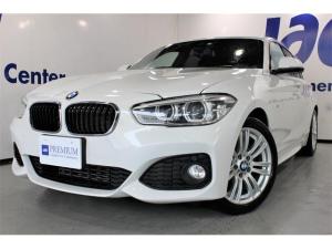 BMW 1シリーズ 118i Mスポーツ パーキングサポートPKG 1オナ禁煙車 ドライビングアシストPKG レーンディパーチャー クルコン 衝突回避/被害軽減B 前車接近警告機能 LEDヘッド 純正HDDナビBカメラ 取保 スペアリモコン