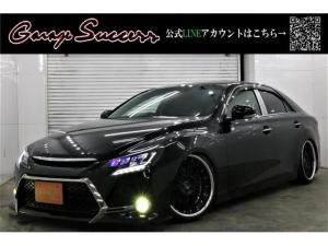 トヨタ マークX SパケG's仕様新SSR19新TEIN車高調イエローフォグ