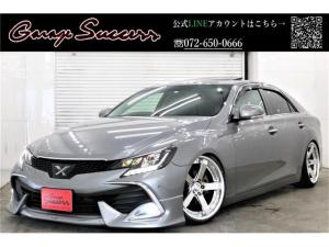 トヨタ マークX SパケRDS・G's仕様新ワーク19新BRASH車高調