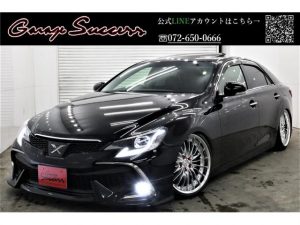 トヨタ マークX 黒革サンルーフRDSモデリスタ新WORK19新TEIN車高調