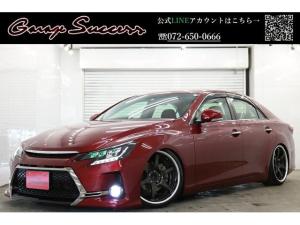 トヨタ マークX Gs仕様3眼ライト新流れるテール新品SSR19新品車高調