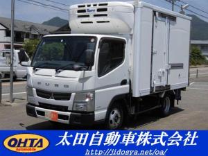 三菱ふそう キャンター 全低床 東プレ製冷凍車-30度設定  スタンバイ装置