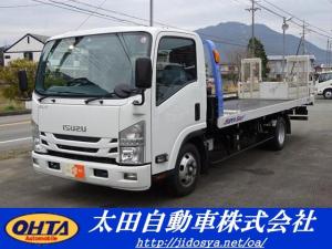 いすゞ エルフトラック タダノ車両運搬車 ラジコン 3t
