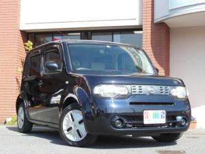 日産 キューブ 15X Vセレクション ワンオーナー車 自社管理車両 プッシュスタート CDステレオ ETC