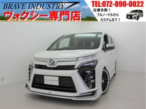 トヨタ ヴォクシー ZS煌II新車 モデリスタエアロ 車高調 19AW 両電スラ