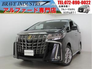 トヨタ アルファード Sタイプゴールド新車 サンルーフ Dミラー 両電スラPバック