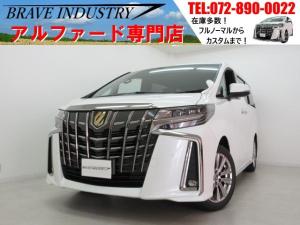 トヨタ アルファード 2.5Sタイプゴールド新車 7人 3眼 両電スラパワーバック
