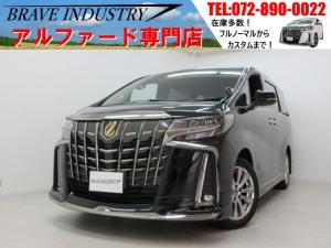 トヨタ アルファード タイプゴールド新車モデリスタ フリップダウン両電スラPバック