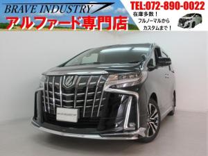 トヨタ アルファード SC新車 3眼モデリスタ フリップダウンモニターDオーディオ