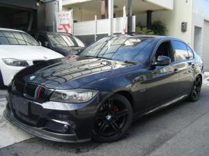 BMW 3シリーズ 320i Mスポーツパッケージ レムスマフラー 18インチアルミ フロントカーボンスポイラー ローダウンサス