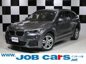 BMW X1 xDrive 18d Mスポーツ インテリジェントセーフティ 純正HDDナビ バックカメラ キセノンヘッドライト Bluetooth 純正18AW 衝突軽減装置 ETC レーンアシスト アイドリングストップ プッシュスタート USB