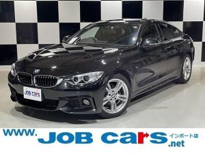 BMW 4シリーズ 420iグランクーペ Mスポーツ 純正ナビ 純正18AW コンフォートアクセス クルーズコントロール パークアシスト バックカメラ 前席Pシート Pバックドア Bluetooth USB オートライト レーンアシスト HID ETC