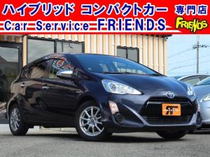 トヨタ アクア G中期型スマートキーAACシートヒータークルコン保証付