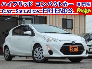 トヨタ アクア S中期型ワンオーナー純正TVナビビルトインETC保証付