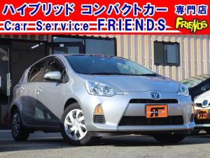 トヨタ アクア S フルセグTVナビDVD再生Bluetooth全席パワーウィンドー保証付