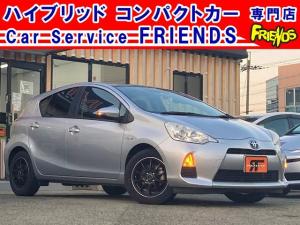 トヨタ アクア S TVナビBluetoothドライブレコーダーETC保証付