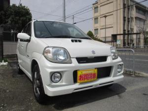 スズキ Keiワークス ベースグレード 4WD 5MTターボ レカロシート シートヒーター付き パールタイミングチェーン車