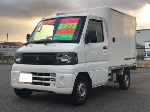 三菱 ミニキャブトラック パネルバン 冷蔵冷凍車 -5℃設定 サイドドア ETC