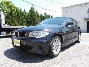 BMW 1シリーズ 116i ブラック 純正アルミ