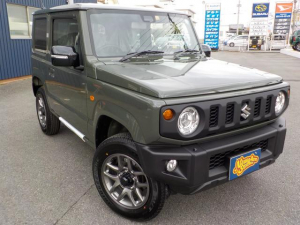 スズキ ジムニー XC 5MT 届出済み未使用車 スズキセーフティーサポート 本革巻きステアリング ステアリングコントロール クルーズコントロール シートヒーター プライバシーガラス LEDライト 16インチアルミホイール