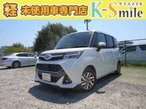 トヨタ タンク カスタムG 登録済未使用車 ナビレディP付 両パワースライド