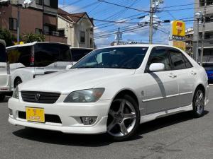 トヨタ アルテッツァ RS200 Lエディション 純正ナビ 純正17AW 革シート