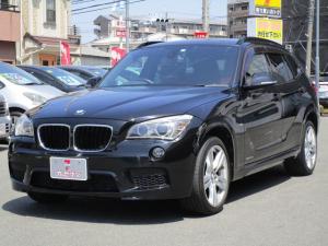 BMW X1 sDrive 20i Mスポーツ サイバーナビ フルセグ コンフォートアクセス Bカメラ ドライブレコーダー シートカバー プッシュスタート ミラー一体ETC ホーネットセキュリティ 純正18インチアルミ キセノン