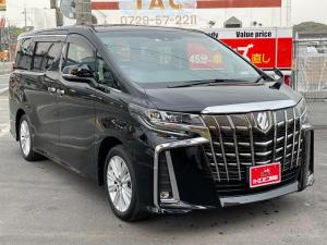 トヨタ アルファード 2.5S 新車保証 202ブラック セーフティセンス 7人乗り 両側パワースライドドア アルパインナビ&フルセグTV