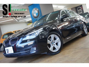 BMW 5シリーズ 525iハイライン 後期 ナビ 黒革 AUX