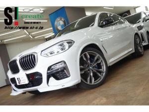 BMW X4 M40i セレクトPKG ハーマンカードン ディスプレイキー ジェスチャーコントロール ガラスサンルーフ リアシートヒーター シュニッツァースポイラー(フロント・リア・ルーフ)/ダウンサス H&Rスペーサー