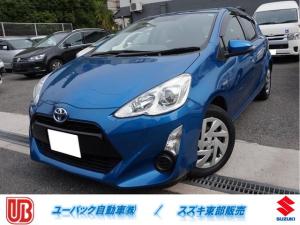 トヨタ アクア S Bカメ・ETC・ワンセグ・Bluetooth・電格ミラー