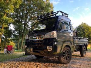 ダイハツ ハイゼットトラック エクストラ 4WD カスタム車両