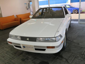 トヨタ ソアラ 3.0GT-リミテッド 7M-GTEUエンジン インタークーラーターボ バネサスに変更済み 純正15インチAW タイミングベルト交換済み
