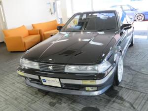 トヨタ ソアラ 2.0GT-ツインターボL 純正5速ミッション R33GT-R17インチAW HKS車高調 アペックスマフラー HKSエアクリ フルエアロ リアスポイラー LSD Fタワーバー スピーンターンノブ
