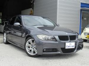 BMW 3シリーズ 320i Mスポーツパッケージ /社外オンダッシュナビ/ETC/キセノン/プッシュスタート/純正17インチアルミ
