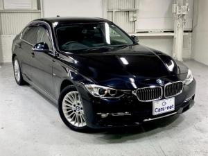 BMW 3シリーズ 320dブルーパフォーマンス ラグジュアリー /純ナビ/Bカメラ/黒革シート/スマートキー/プッシュスタート/禁煙車/自社買取車