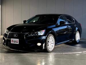 レクサス GS GS450h バージョンL サンルーフ 黒本革 衝突軽減