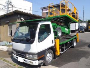 三菱ふそう キャンター 12m高所作業車 タダノスーパーデッキAT-120S
