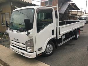 いすゞ エルフトラック 2t標準ロング平 高床 総重量4915Kg AT免許対応
