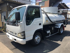 いすゞ エルフトラック 3.7tワイドバキュームカー 糞尿車 スムーサーE モリタ製