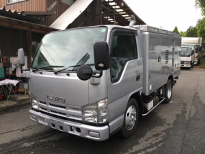 いすゞ エルフトラック 1t高圧洗浄車 新明和ジェットクリーナー 圧力20MPa