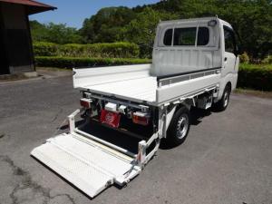 ダイハツ ハイゼットトラック 4WD コンパクトテールリフト 5速MT WエアB ABS