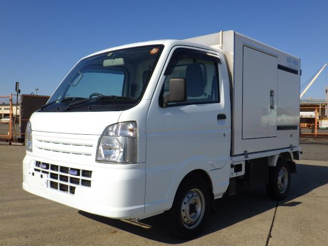 H26年式 スズキキャリイ 低温 冷蔵冷凍車 ガソリン車 冷凍機 THERMO KING