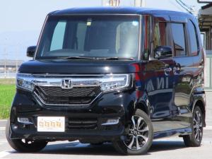 ホンダ N-BOXカスタム G・Lホンダセンシング 両側電動ドア 社外SDナビ フルセグ