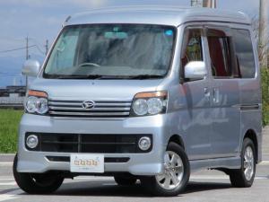 ダイハツ アトレーワゴン カスタムターボRSリミテッド 4WD 電動ドア 純正CD