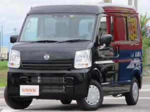 日産 NV100クリッパーバン GXターボ 4WD 純正CD 届出済未使用車